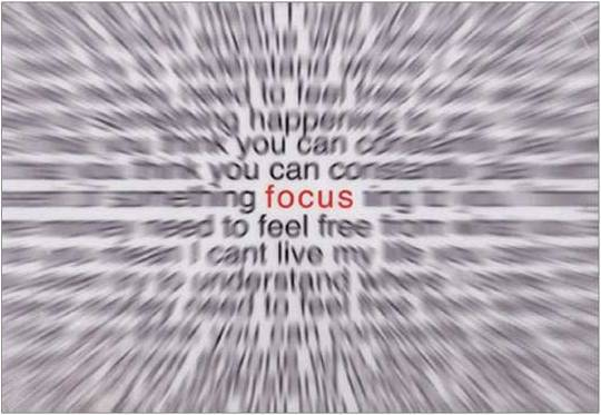 Image result for focus and control