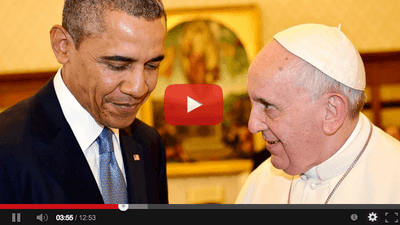 Obama and the Pope